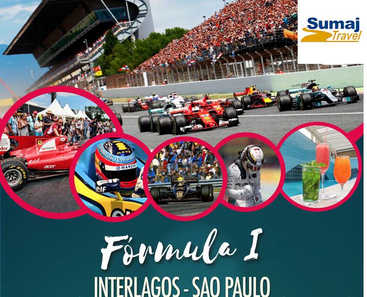 paquete a la formula 1 brasil 2019 con entradas