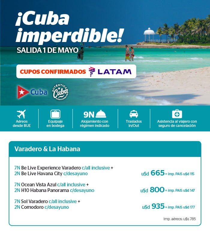 Paquete a Cuba