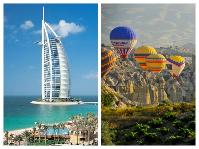 Dubai y Turquia