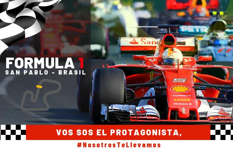 paquete formula 1 brasil